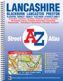 Lancashire County Atlas, Spiral bound Book