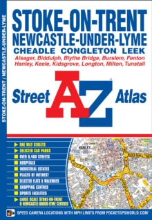 Stoke On Trent Street Atlas, Paperback / softback Book