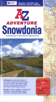 Snowdonia Adventure Atlas, Paperback Book