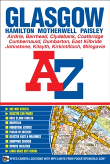 Glasgow Street Atlas, Paperback / softback Book