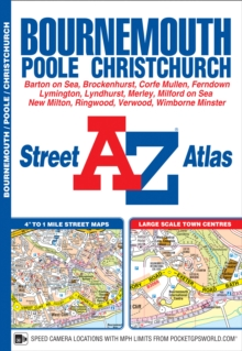 Bournemouth Street Atlas, Paperback Book