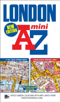 Mini London Street Atlas, Paperback Book