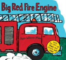 Big Red Fire Engine, Novelty book Book