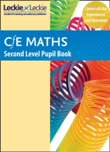 CfE Maths Second Level Pupil Book, Paperback Book