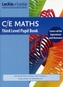 CfE Maths Third Level Pupil Book, Paperback Book