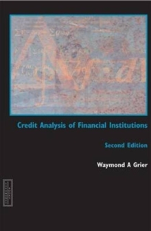 Credit Analysis of Financial Institutions, Paperback Book
