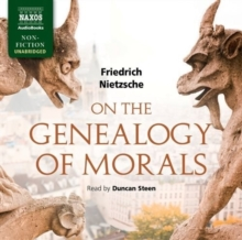 On the Genealogy of Morals, CD-Audio Book