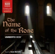 The Name of the Rose, CD-Audio Book