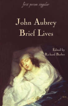 Brief Lives, Paperback Book