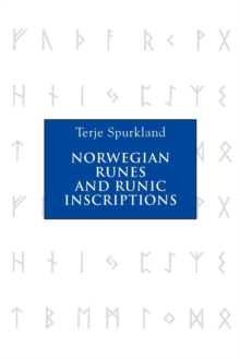 Norwegian Runes and Runic Inscriptions, Paperback Book