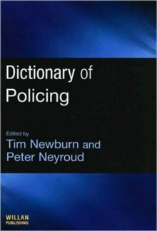 Dictionary of Policing, Hardback Book