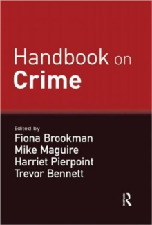 Handbook on Crime, Hardback Book