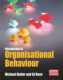 Introduction to Organisational Behaviour, Paperback / softback Book
