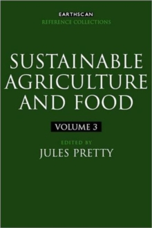 Sustainable Agriculture and Food, Hardback Book