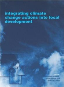 Integrating Climate Change Actions into Local Development, Hardback Book