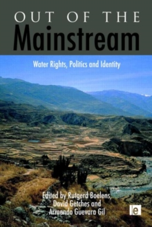 Out of the Mainstream : Water Rights, Politics and Identity, Hardback Book