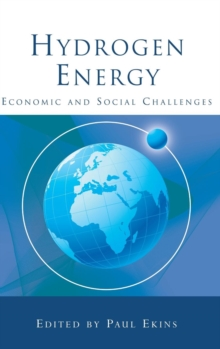 Hydrogen Energy : Economic and Social Challenges, Hardback Book