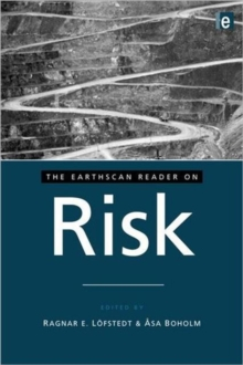 The Earthscan Reader on Risk, Paperback / softback Book