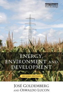 Energy, Environment and Development, Paperback / softback Book