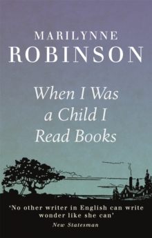 When I Was A Child I Read Books, Paperback Book