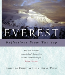 Everest : Reflections from the Top, Hardback Book