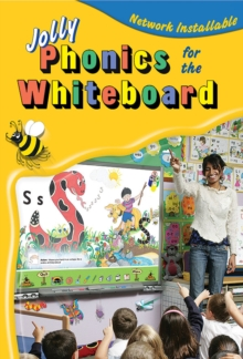 Jolly Phonics for the Whiteboard (site licence) : in Precursive Letters (BE), CD-ROM Book