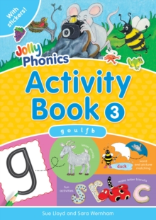 Jolly Phonics Activity Book 3 : in Precursive Letters (BE), Paperback Book