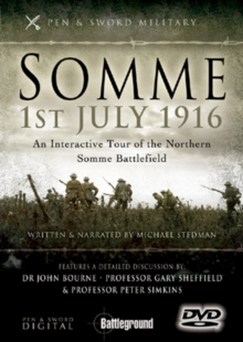 Somme, 1st July 1916: Northern Sector, DVD  DVD
