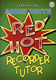 RED HOT RECORDER TUTOR DESCANT - TEACHER, Paperback Book