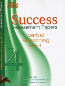 Verbal Reasoning Age 8-9 : Assessment Papers, Paperback Book