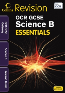 OCR Gateway Science B : Revision Guide, Paperback Book