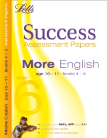 More English Age 10-11 : Assessment Papers, Paperback Book