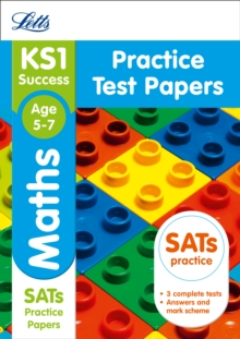 KS1 Maths SATs Practice Test Papers : 2018 Tests, Paperback Book