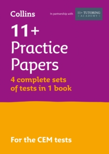 11+ Practice Test Papers (Get Test-Ready) Bumper Book, Inc. Audio Download: For the Cem Tests, Paperback Book