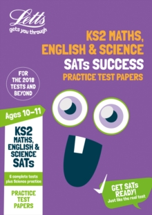 KS2 Maths, English and Science SATs Practice Test Papers : 2018 Tests, Paperback / softback Book