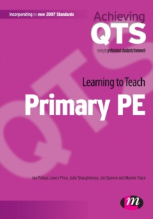 Learning to Teach Primary PE, Paperback Book