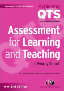 Assessment for Learning and Teaching in Primary Schools, Paperback / softback Book