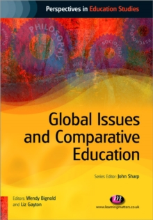 Global Issues and Comparative Education, Paperback Book