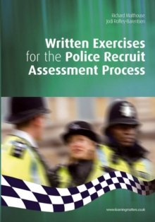 Written Exercises for the Police Recruit Assessment Process, Paperback / softback Book