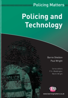 Policing and Technology, Paperback / softback Book