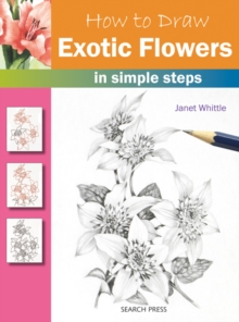 How to Draw: Exotic Flowers, Paperback Book
