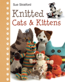 Knitted Cats & Kittens, Hardback Book