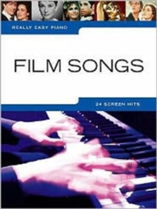 Really Easy Piano : Film Songs, Paperback Book