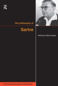 The Philosophy of Sartre, Paperback Book