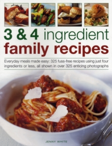 3 & 4 Ingredient Family Recipes, Paperback / softback Book