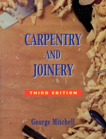 Carpentry and Joinery, Paperback Book