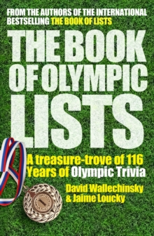 The Book of Olympic Lists, Paperback Book