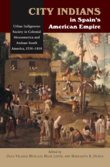 City Indians in Spain's American Empire : Urban Indigenous Society in Colonial Mesoamerica & Andean South America, 1530-1810, Hardback Book