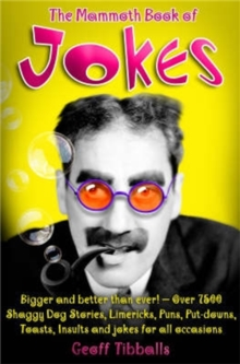 The Mammoth Book of Jokes New edn, Paperback / softback Book