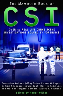 The Mammoth Book of CSI, Paperback / softback Book